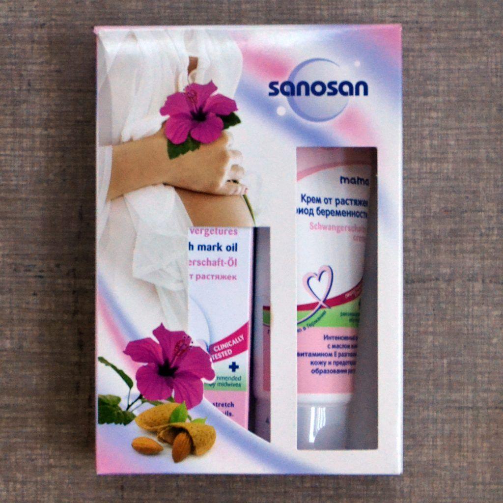 Набор подарок для беременных Sanosan Sweetmama, одежда для беременных