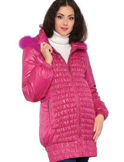 286fd7987854e03 Куртка пуховик удлиненная для беременных - Рисунок 2 ...