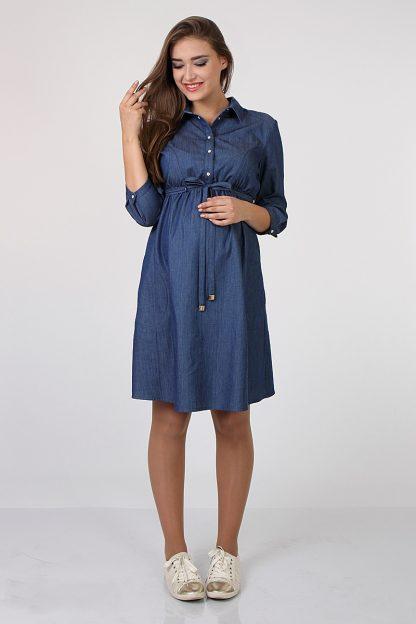 45267cae3b8 Джнисовое платье-рубашка Yanina – Sweetmama