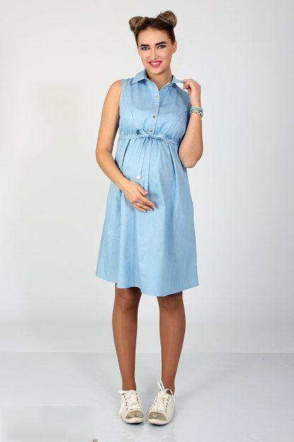 c068f252069 Летний джинсовый сарафан для беременных и кормящих Polly – Sweetmama